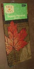 New listing fall decor-Tapestry table runner/placemat