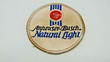 "Anheuser-Busch Natural Light Patch - Used - 3"" Diameter"