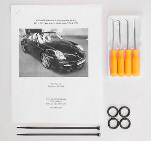 Hydraulic Cylinder Repair Kit w Picks 99-12 Porsche 911 996 997 Convertible Ram