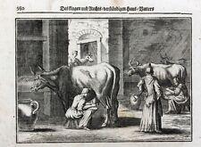 Melken Milchbauer Kuh Euter Cow Milk Milking Udder Schemel Bauernhof Traite Magd