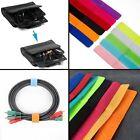10Pcs Marker Data Line Holder Wire Cord Organizer Magic Tape Cable Winder
