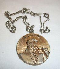Elvis Bronze Pendant King Of Rock 1835 - 1977