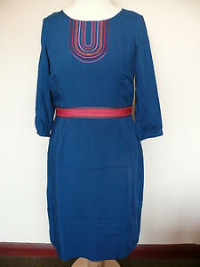 Boden Carla pretty day dress  *New Price* Pewter or Teal, 14R or 14L BEAUTIFUL!!