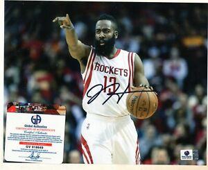James Harden Signed autographed auto Houston Rockets NBA 8x10 Photo COA -49