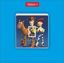 Toy Story - Woody Jess and Bullseye - Light switch sticker
