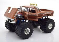 Ford F-350 Monster Truck BFT 66-inch Tires braun 1:18 Greenlight
