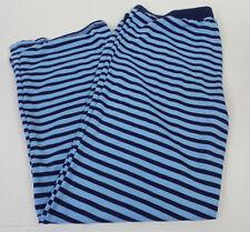 Karen Neuburger Womens Pajama Bottoms Blue/Navy Striped US Size L NWOT