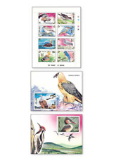 MNG9302ZB Birds 10 and 2 blocks MNH MONGOLIA 1993
