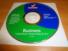 LOOK *Retail*  2012 TURBOTAX BUSINESS CD for CORPORATION ESTATE TRUST TURBO TAX