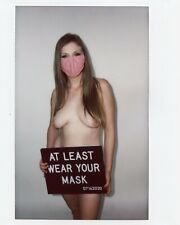 FUJI INSTAX WIDE OOAK WOMAN ART PHOTO LIKE POLAROID PHOTOGRAPH GIRL NUDE
