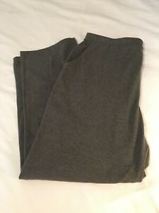 LLBean soft pants 1X color gray new with tag waist 38length 40