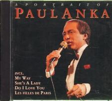 Paul Anka(CD Album)A Portrait Of (French Import)-New