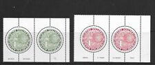 NEW ZEALAND round Kiwi issues in pairs MINT NH