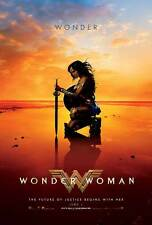 Wonder Woman Original Affiche Du Film – Wonder Style Plage E Gal Gadot