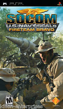 Socom : U.S.Navy Seals Fireteam Bravo (Psp ) Neuf