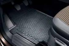 Genuine Volkswagen Amarok Rubber Floor Mats Front & Rear Set of 4 2010-Current