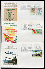 España Sobres Primer día del año 1978-80 (CB-49)