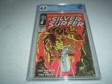 Silver Surfer 3 CGC 4.5  Marvel Comics 1968 1st Mephisto