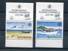 Seychelles 1980 452-53 Battelli MHN