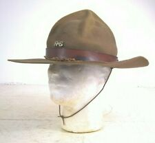 More details for vintage boy scout / the scoutmaster hat with rs badge