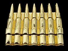 BULLETS ROUND SHOTS GUN RIFLE BELT BUCKLE BOUCLE DE CEINTURE