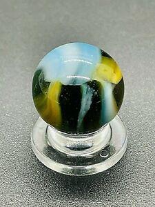 """Vintage Multi Color PELTIER NLR RAINBO MARBLE Vintage Marble 0.629"""" NM-M"""