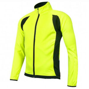 Cycling Jersey Green Bicycle Shirt Long MTB Bike Jacket Top Coat Yellow Clothing