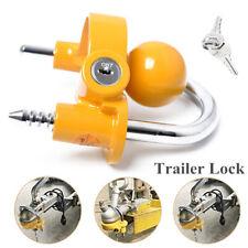 Adjustable Trailer Hitch Coupler Lock Trailer Lock Anti-Theft Hitch Ball Lock RV