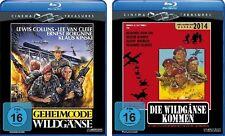 2 Blu-rays * GEHEIMCODE WILDGÄNSE + DIE WILDGÄNSE KOMMEN  - Kinski # NEU OVP §