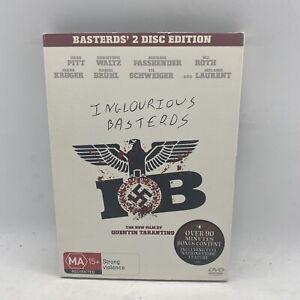 Inglorious Basterds 2 Disc Edition Quentin Tarantino Brad Pitt Free Postage
