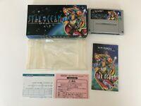 Star Ocean SFC Super Famicom SNES NTSC-J BOXED JAPAN Import CIB F/S