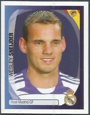 PANINI UEFA CHAMPIONS LEAGUE 2007-08- #342-REAL MADRID-WESLEY SNEIJDER
