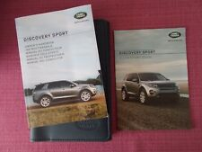 LAND ROVER DISCOVERY SPORT (2011 - 2013) USER MANUAL - HANDBOOK. (LR 73)