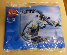 Lego City 30222 Police Helicopter Polizei Hubschrauber Tütchen Polybag Neu OVP