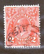 Australia Scott 28 - King George V 2 Pence.  Used. #02 AUS28b