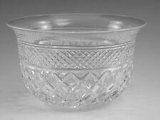 "Thomas WEBB Crystal - RUSSELL Cut - Finger Bowl Glass / Glasses - 2 1/2"""