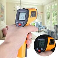Temp Meter Temperature Gun Non-contact Digital Laser Infrared IR Thermometer