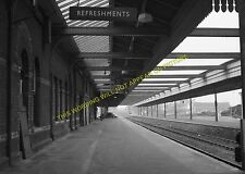 Bournemouth West Railway Station Photo. Branksome and Poole Line. L&SWR. (12)
