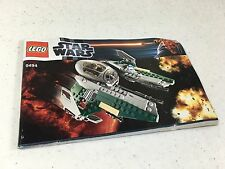 Lego Star Wars 9494 Instruction Manual Only