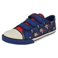 Clarks Medium Width Baby Boys' Canvas Shoes