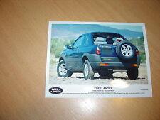 PHOTO DE PRESSE ( PRESS PHOTO ) Land Rover Freelander XE Softback de 1997 R0032