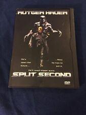 SPLIT SECOND DVD RUTGER HAUER
