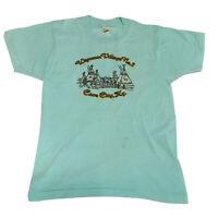 VTG 70s 80s Single Stitch T-Shirt Men's Medium Screen Stars 5050 Thin Kentucky