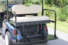 Madjax Genesis 150 Rear Flip Seat EZGO RXV Golf Cart - Sandstone (Factory Color)