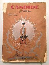 Voltaire: Candide Zadig Jeannot et Colin (1930 Illust Polack) Nilsson Lotus