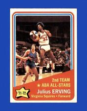 1972-73 Topps Set Break #255 Julius Erving EX-EXMINT *GMCARDS*
