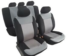 Brand New Velour With Mesh Car Seat Covers 11pcs Car Universal Size