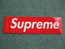 GENUINE DS Supreme Box Logo Sticker RARE SOLD OUT READY TO SHIP