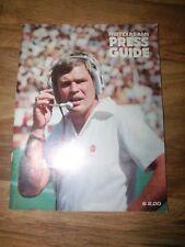 1981 Texas A & M Football Press Guide media magazine *Worldwide Shipping*