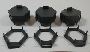 MB VTG 1986 FUJIYAMA HOTEL HOTELS BOARD GAME PART PIECES BASES ROOFS